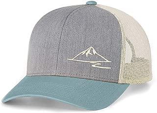 Low Key Caps | Trucker Snapback - Mountain