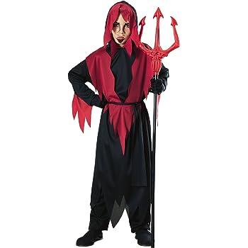 Halloween - Disfraz de Diablo para niño, infantil 5-7 años ...