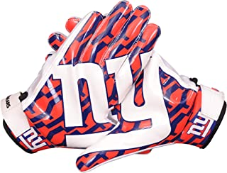 LYCOS GEARS NFL New York Giants Fans Football Receiver Gloves (Youth/Adult Sizes)
