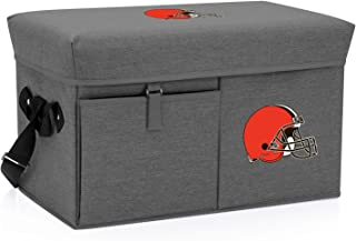 NFL Cleveland Browns Ottoman Insulated Collapsible Cooler/Picnic Tote