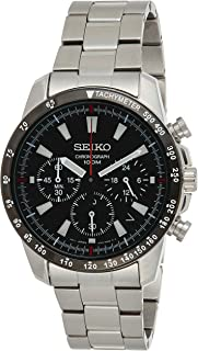 SEIKO Mens Quartz Watch, Analog Display and Stainless Steel Strap SSB031P1