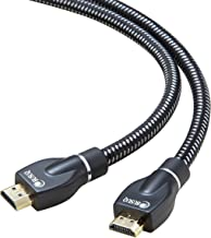 HDMI Cable 6ft - BUSUQ - HDMI 2.0 (4K@60HZ) Ready - 26AWG Nylon Braided- High Speed 18Gbps - Gold Plated Connectors - Ethernet, Audio Return - Video 2160p, for HDR 1080p PS3 PS4