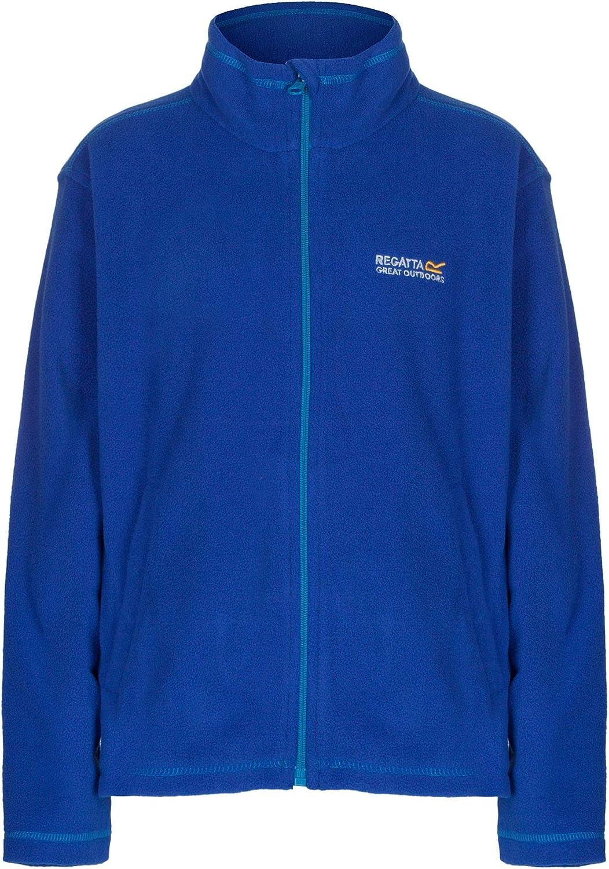 Regatta Great Outdoors Kids King II Lightweight Full Zip Fleece Jacket