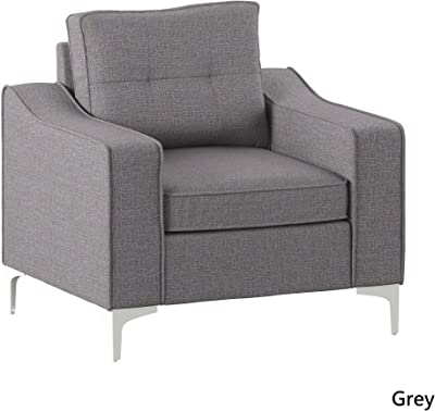 Amazon.com: GIA Tri-Fold Sofa Bed, With Pillow, Light Gray ...