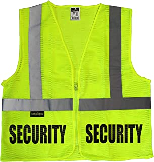 Conspiracy Tee Security Guard mesh Vest, Event Security Vest, mall, School, Safety, Bouncer