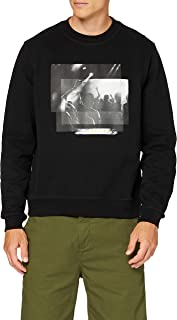 7 For All Mankind Men's Graphic Sweat Sweater