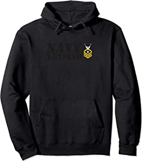USN Command Master Chief Petty Officer (CMC) Retired Hoodie