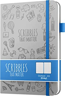 A5 Dotted Journal by Scribbles That Matter - Create Your Perfect Bullet Notebook Journal on Ultra-Thick 160gsm No Bleed Pa... photo