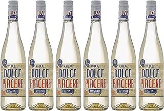 comprar comparacion Vino Blanco Dolce Piacere Frizzante, Pack de 6 Botellas de 750 ml (Total: 4.5 L) Bodega Cuatro Rayas