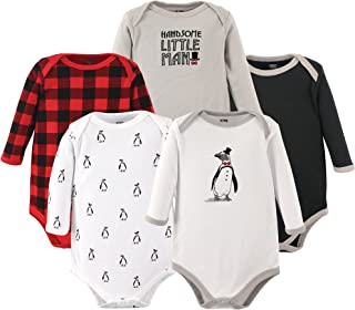 SININIDR Newborn Jumpsuit Infant Baby Girls Pocket Sloth Long-Sleeve Bodysuit Playsuit Outfits Clothes Black