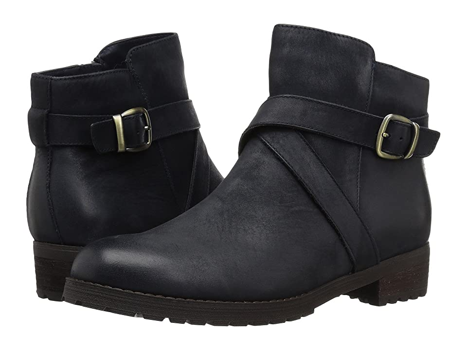 Blondo Varta Waterproof Bootie (Navy Nubuck) Women