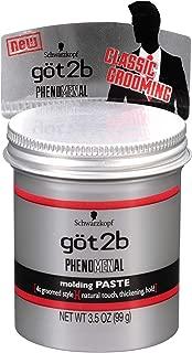 Got 2B Phenomenal Molding Paste 3.5 Ounce (103ml) (2 Pack)