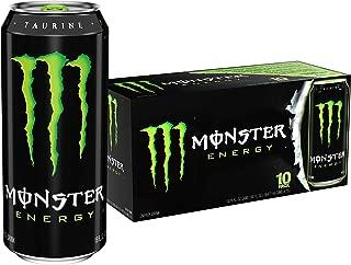 Monster Energy Drink, Green, Original, 16 Ounce (Pack of 20)