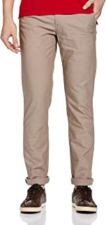 Arrow Sports Men's Relaxed Fit Casual Trousers