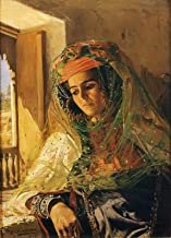 Eugene-Alexis Girardet Lady by a Window, Biskra 1879 Private Collection 30
