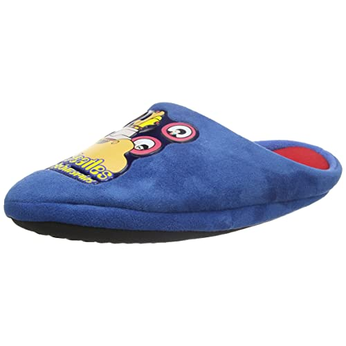 16909b166c Rock Robes Beatles Yellow Submarine Mens Blue Mule Slippers …