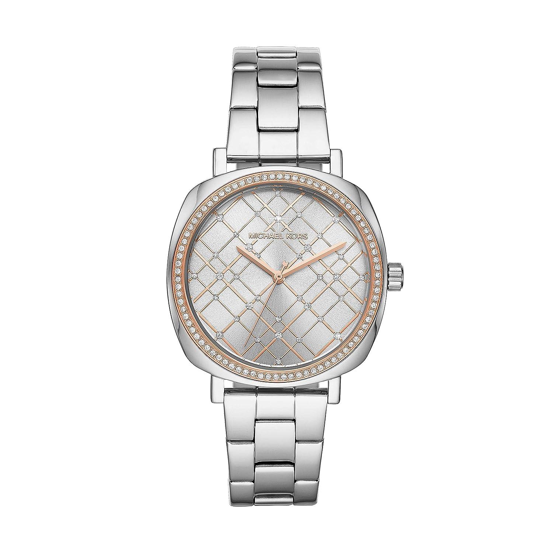 Michael Kors レディース Nia ステンレススチール腕時計 MK3990