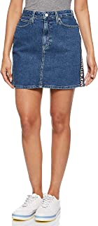 Calvin Klein Jeans Women's High Rise Mini Skirt