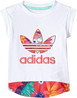 adidas Originals Kids - Floral Graphic Tee (Infant/Toddler)