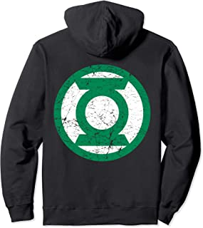 US DC Green Lantern +Logo Distressed 01 Sweat à Capuche