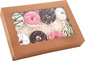 Tcoivs 20-Pack Bakery Boxes with Window, 14