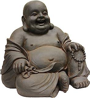 Hi-Line Gift Ltd Happy Sitting Buddha Statue, 165-Inch