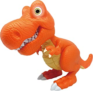 Junior Megasaur Bend and Bite T-Rex – Preschool Dinosaur Toy with Realistic Sounds and Light Up Eyes by Dragon-I – Official Manufacturer
