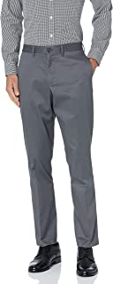 Buttoned Down mens Athletic Fit Non-iron Dress Chino Pant