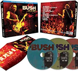 BUSH Live In Tampa Special Edition Blu-ray DVD CD Package arrives April 24th from Cleopatra and MVD