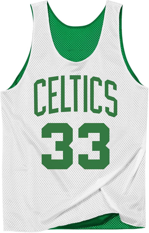 Camiseta Hombre Mitchell & Ness Tank Boston Celtics Verde Reversible NNRMDA18007