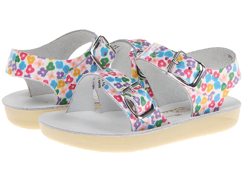 Salt Water Sandal by Hoy Shoes Sun-San Sea Wees (Infant/Toddler) (Floral) Girls Shoes