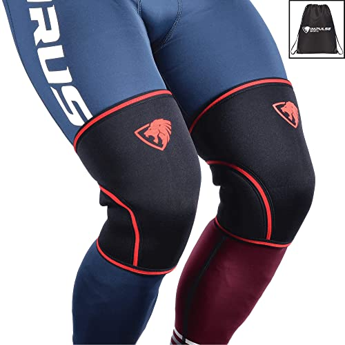 9540811140 Knee Sleeves (1 Pair w/bag) Best Orthopedic Knee Support & Pain Compression