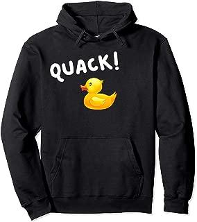 Quack ! Yellow Duck Hoodie