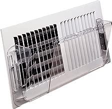Deflecto Adjustable Wall Air Deflector, 10
