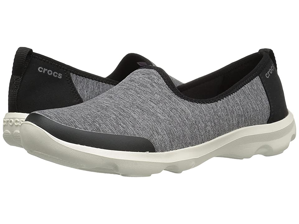 Crocs Busy Day Skimmer NM Heathered (Grey) Women