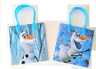 12 Pieces Disney Frozen 2 Olaf Birthday Goody Gift Loot Favor Bags Party Supplies (Frozen 2 Olaf)