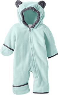 Columbia Baby Girls' Tiny Bear Ii Bunting, Warm Soft Fleece
