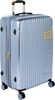 National Geographic NG08-74-B Oxygen Hardside 8WD Large Trolley Case Ice Blue