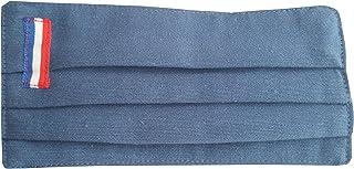 Pack 2 color azul mujer bandera de Francia doble tela