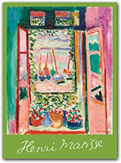 Henri Matisse Notecard Box Two-Piece Gift Box of Museum Quality All Occasion Notecards