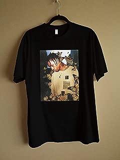2019 Travis Scott Butterfly T Shirt Effect Rap Music Album Cover Men High Quality Summer Face Material Top T-shirt T-SHIRT tour 2019 T-Shirt, Hoodie, Long Sleeve, Sweatshirt Gift for Fan