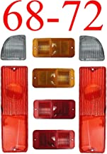 68-72 Chevy 8Pc Tail Light Kit w/ Standard Side Lights