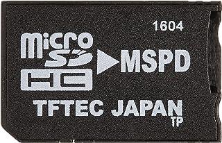 変換名人 micro SDHC/SD → メモリースティックProDuo変換アダプタ 最大16GB動作確認済 TFMSPD-TP