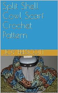 Split Shell Cowl Scarf Crochet Pattern