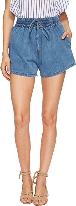 Bishop + Young - Chambray Shorts