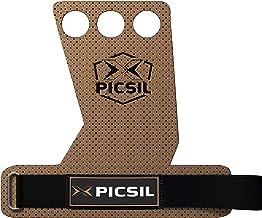 PICSIL Azor crosstraining-grepen met 2 en 3 gaten, synthetische handgrepen voor gewichtheffen, muscle-ups, pull-ups, gymna...