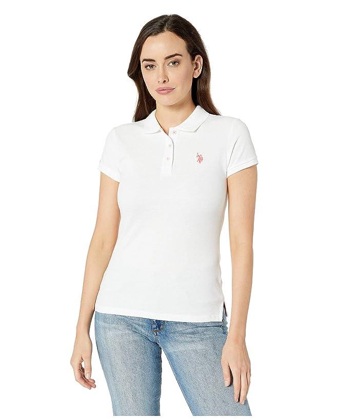 U.S. POLO ASSN. Neon Logo Polo Shirt
