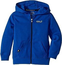 Polo Ralph Lauren Kids - Tech Fleece Full Zip Hoodie (Little Kids/Big Kids)