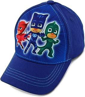 Pj Masks  Little Boys Baseball Hat, 3D Pop Kids Baseball Cap, Blue