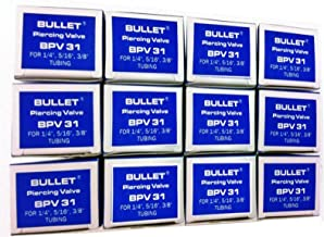 """SUPCO BPV-31 Bullet 3-in-1 Line Tap Piercing Valve, 500 psi Pressure, 1/4"""", 5/16"""", and 3/8"""" OD Size (Pack of 12)"""